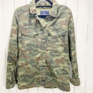 American Eagle Army/Camouflage Print Jacket| Small